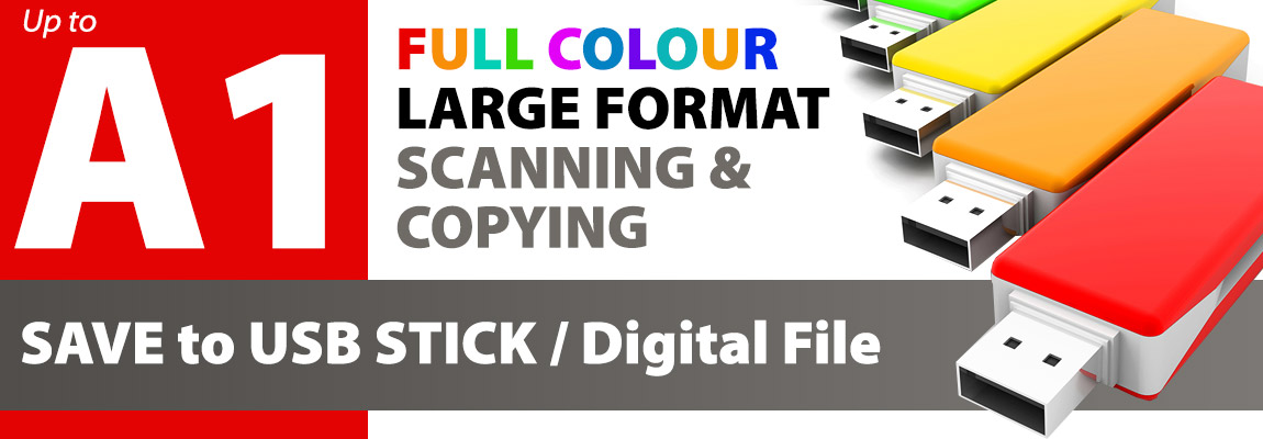 Large format Colour Copying and Scanning Service